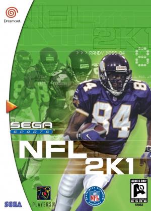 NFL 2K1 sur DCAST