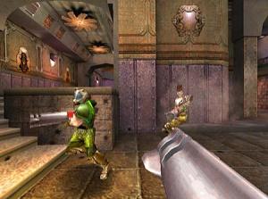 Quake 3 sur Dreamcast : images
