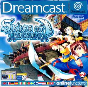 Skies of Arcadia sur DCAST