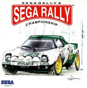 Sega Rally 2 sur DCAST