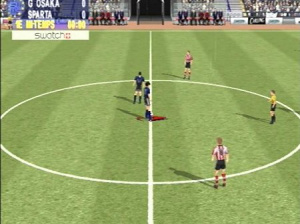 Sega Worldwide Soccer Euro 2000
