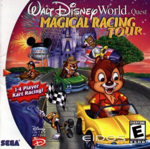 Walt Disney World Quest : Magical Racing Tour sur DCAST