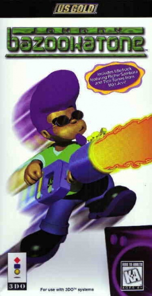 Johnny Bazookatone sur 3DO