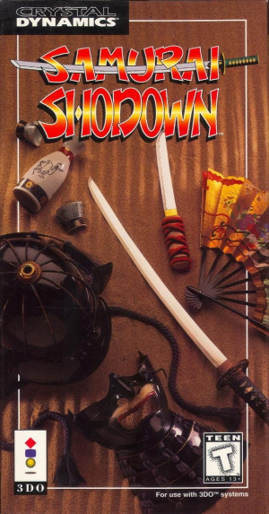 Samurai Shodown sur 3DO