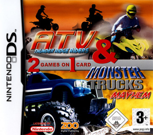 ATV Thunder Ridge Riders & Monster Trucks Mayhem sur DS