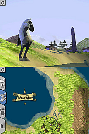 Black And White Creatures - Nintendo DS
