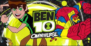 Jaquette de Ben 10 Omniverse sur DS