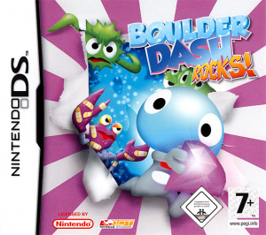 Boulder Dash Rocks sur DS