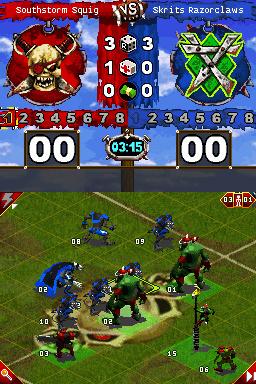 Premières images de Blood Bowl sur DS