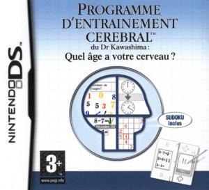 Programme d'Entraînement Cérébral du Dr Kawashima : Quel Age a votre Cerveau ? sur DS