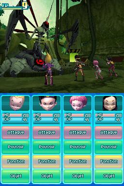 Code Lyoko 2 DS baptisé et daté en image