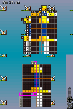 Colour Cross : le nouveau Picross ?
