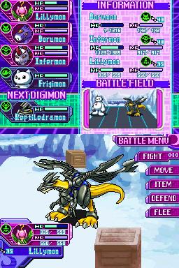 Images : Digimon World Dawn/Dusk