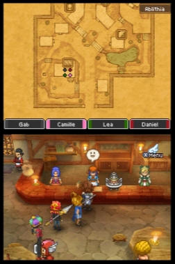 Images de la version française de Dragon Quest IX