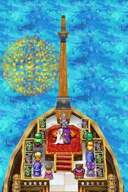 Dragon Quest : La Fiancée Céleste reste à bord - DS