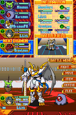 E3 2007 : Digimon World sur DS