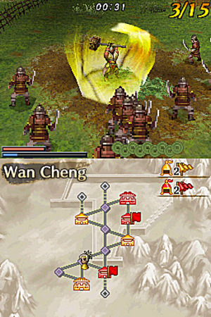 Images : Dynasty Warriors sur DS