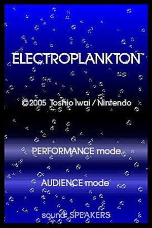 Images : Electroplankton