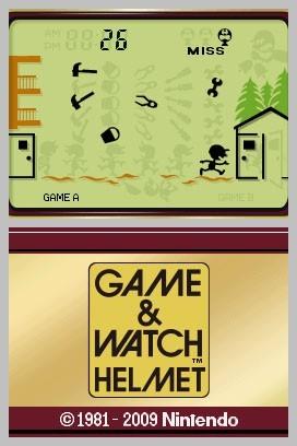 Les Game & Watch en téléchargement sur DSiWare