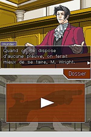 Phoenix Wright accuse en français