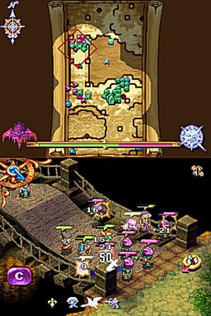 Images : Heroes Of Mana se la raconte sur DS