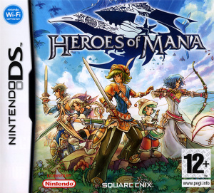 Heroes of Mana sur DS