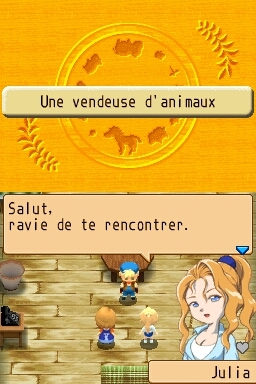 Harvest Moon DS : Ile Sereine