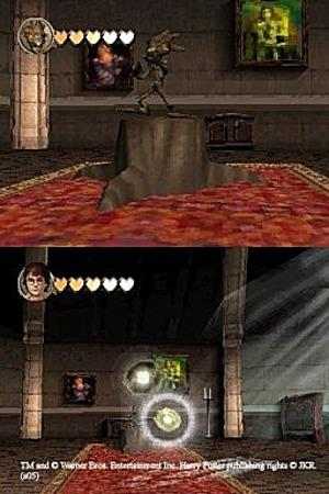 Harry Potter squatte la DS
