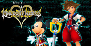 Jaquette de Kingdom Hearts Re:Coded - TGS 2010 sur DS