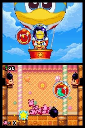 E3 2011 : Images de Kirby Mass Attack