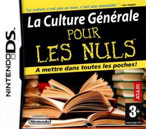 La Culture Générale pour les Nuls sur DS
