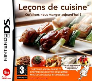 Leçons de Cuisine - Qu'allons-nous Manger Aujourd'hui ? sur DS