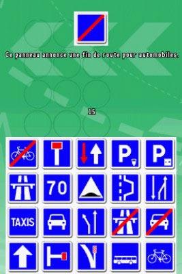 Le code de la route moto et bsr sur nintendo ds - Jeux de coide et de moto gratuit ...