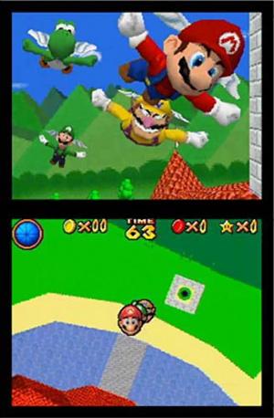 E3 : Un Super Mario 64 à 4 joueurs sur DS