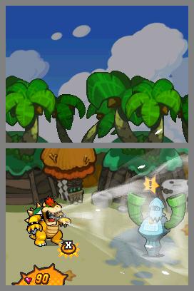 E3 2009 : Images de Mario & Luigi : Bowser's Inside Story