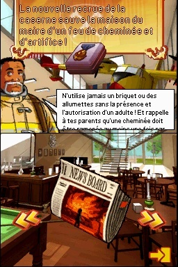 Un pompier dans votre DS
