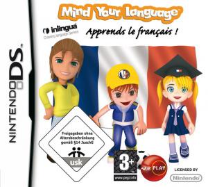 Mind your Language : Apprends le Francais ! sur DS