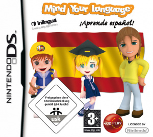 Mind your Language : Aprende Español ! sur DS