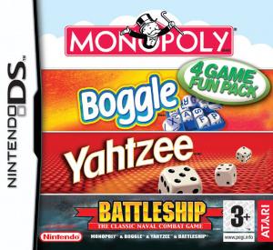 Monopoly-Boggle-Yahtzee-Battleship sur DS