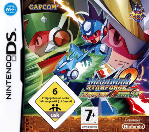 Mega Man Star Force 2 : Zerker X Ninja sur DS
