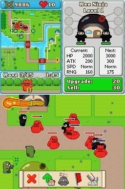 GC 2008 : Images de Ninjatown