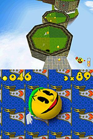 Pac-Man roule sur Nintendo DS