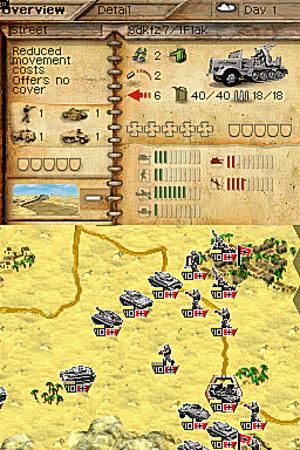Images : Panzer Tactics DS, la balistique faite stylet