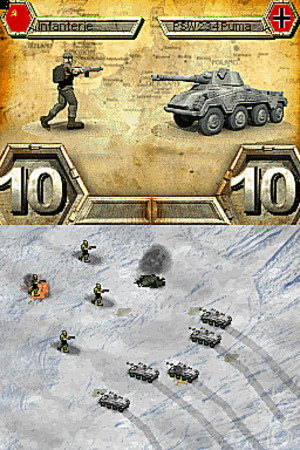 Images : Panzer Tactics DS