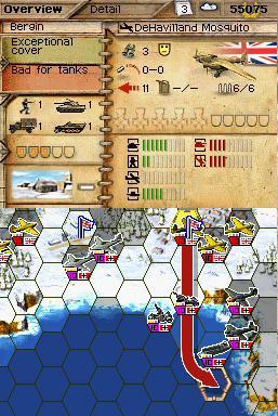 GC 2007 : Images Panzer Tactics DS