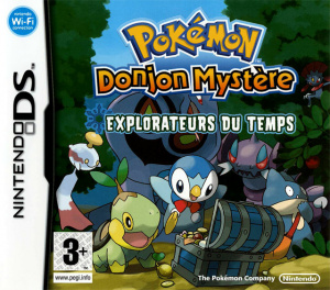 Pokémon Donjon Mystère : Explorateurs du Temps sur DS