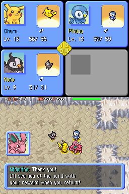 Pokemon Donjon Mystere : Equipe D'Expedition Tenebres