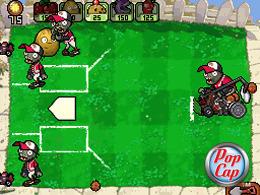 Images de Plantes contre Zombies sur DS