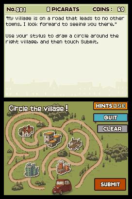 Professor Layton And The Curious Village - Impressions sur la version américaine