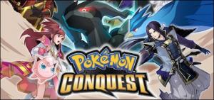 Jaquette de Pokémon Conquest sur DS